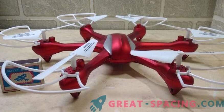 Hexcopter - die perfekte Art von kleiner Flugausrüstung