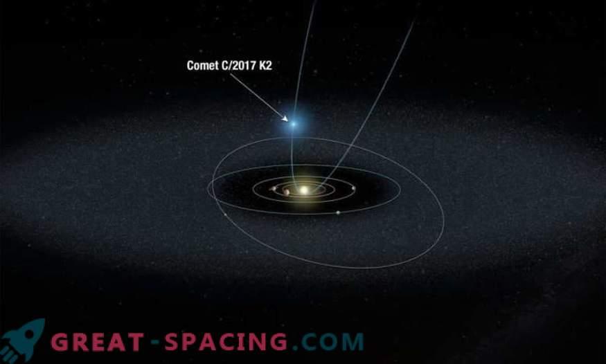 Hubble überwacht den entferntesten Kometen
