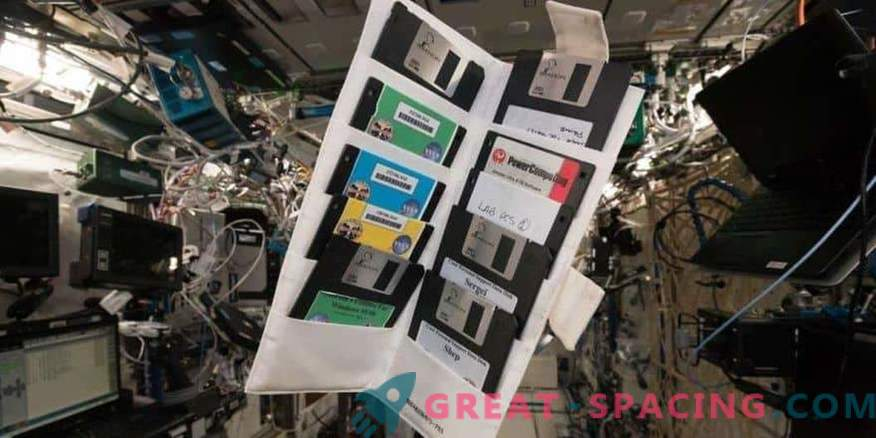 Alte Disketten im vergessenen Schließfach des MKS