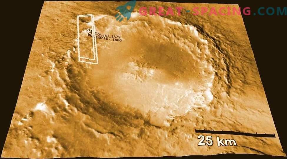 Marsmeteoriten zeigen die Luftfeuchtigkeit des Roten Planeten an