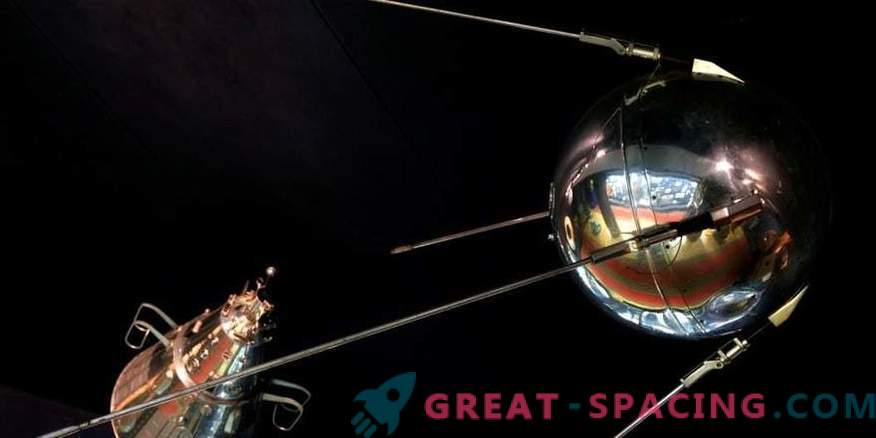 Satellit, von dem aus das Weltraumrennen begann.