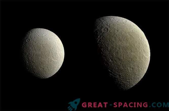 Cassinis Sonde machte hochwertige Bilder von Rei