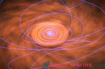 Magnetismus kann die Geburt eines jungen Sternensystems stören oder helfen.