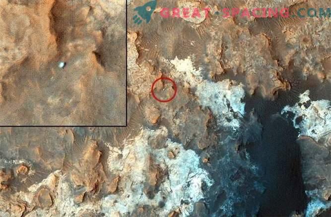 Der Mars Rover hat aufgehört, Spuren auf der Oberfläche des Mars zu hinterlassen.