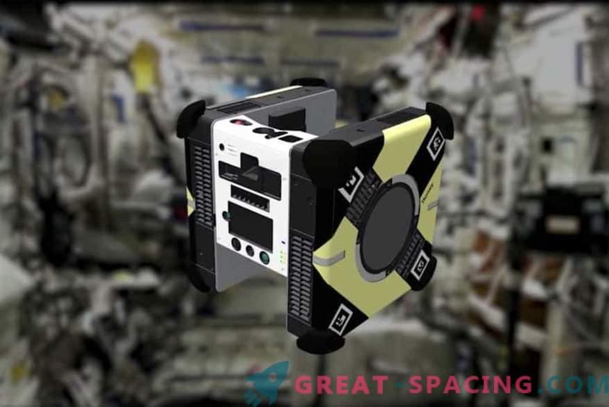 Was machen die Roboter an der Orbitalstation?