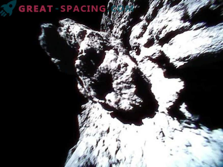 Erstaunliche Ansichten des Asteroiden Ryugu von japanischen Robotern