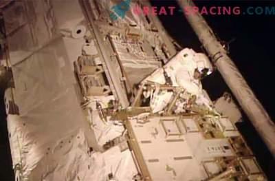 Die Astronauten haben das Austreten von giftigem Ammoniak erfolgreich bewältigt