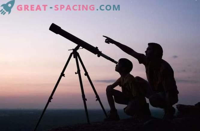 Was kann man mit einem Heimteleskop sehen?