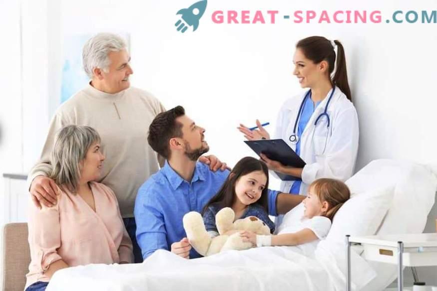 Hilfe für Erwachsene: Anruf beim Arzt, Klinik für Erwachsene, Online-Zugang zum Zahnarzt