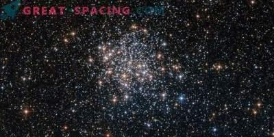 Prächtige Reihe von Sternen auf dem neuen Foto von Hubble