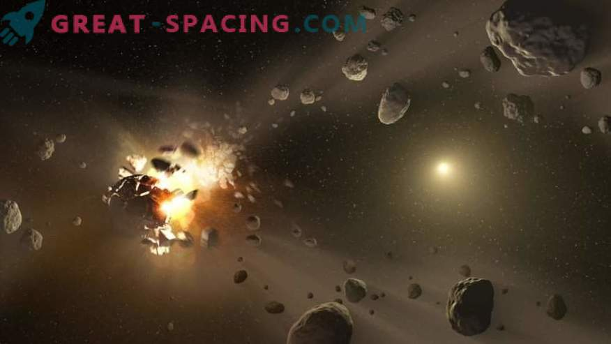 Wie gefährlich ist es, durch den Asteroidengürtel zu fliegen?