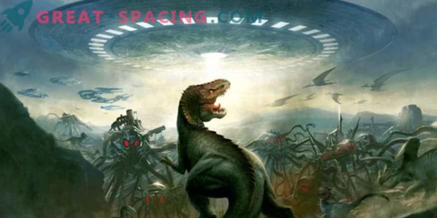 Können außerirdische Zivilisationen noch Dinosaurier auf der Erde sehen?