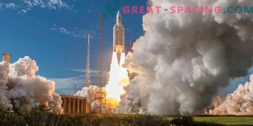 Der 100. Start der europäischen Ariane-5-Rakete