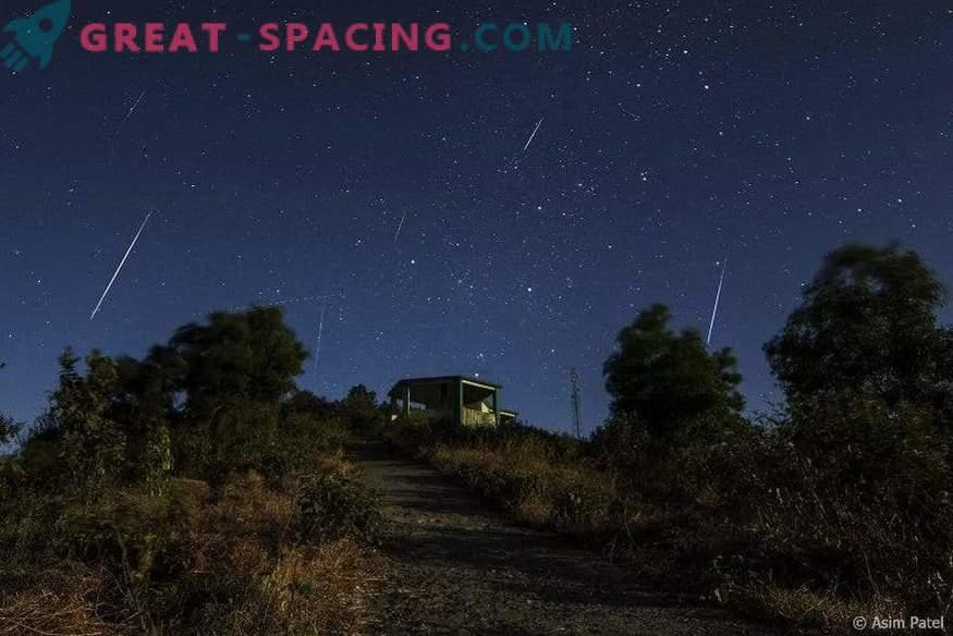 Mach dich bereit für eine Meteoritenschau!