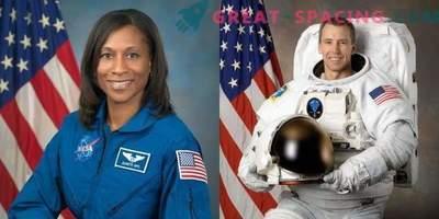 Astronauten für die Weltraummission 2018 ausgewählt.
