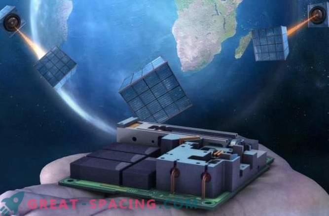 Der winzige Satellit ist der erste Schritt zu einem globalen Quantennetzwerk.