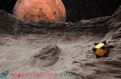 Igelroboter können auf das Sonnensystem springen