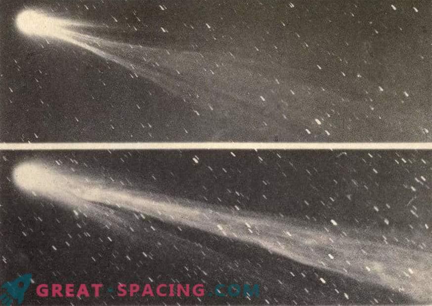 Der Warnschwanz des Kometen Swift-Tattle
