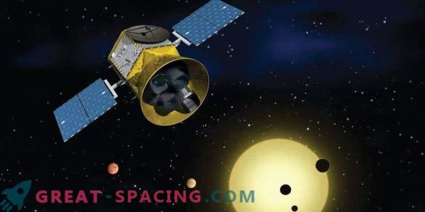 TESS fängt vor Beginn wissenschaftlicher Studien einen Kometen ein