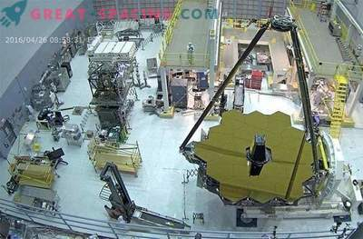 Begrüße unser zukünftiges Weltraum-Megateleskop