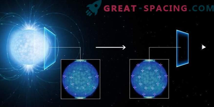 Quantengeister wurden im extremen Magnetismus eines Neutronensterns beobachtet.