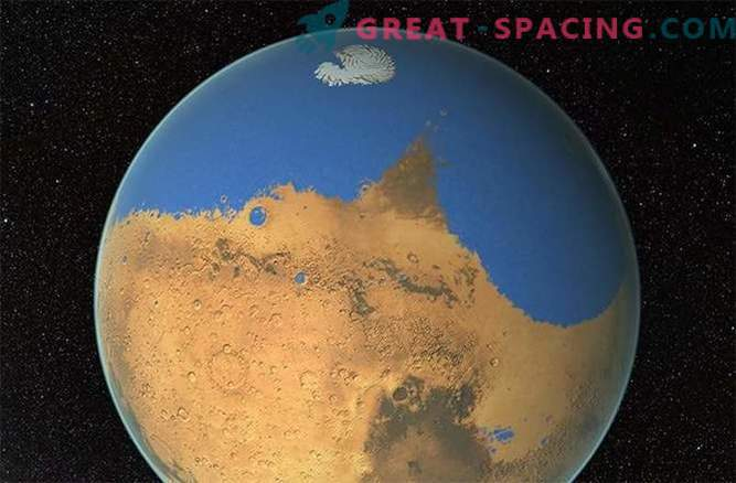 Könnten Asteroiden auf dem Mars Eis brechen?
