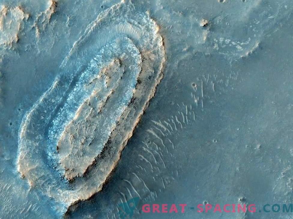 Mars 2020 kann zum Landeplatz des Spirit Rovers zurückkehren.
