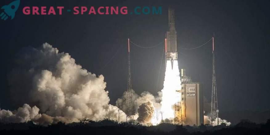 Satelliten der Ariane-5-Rakete haben einen Fehler mit der Position gemacht