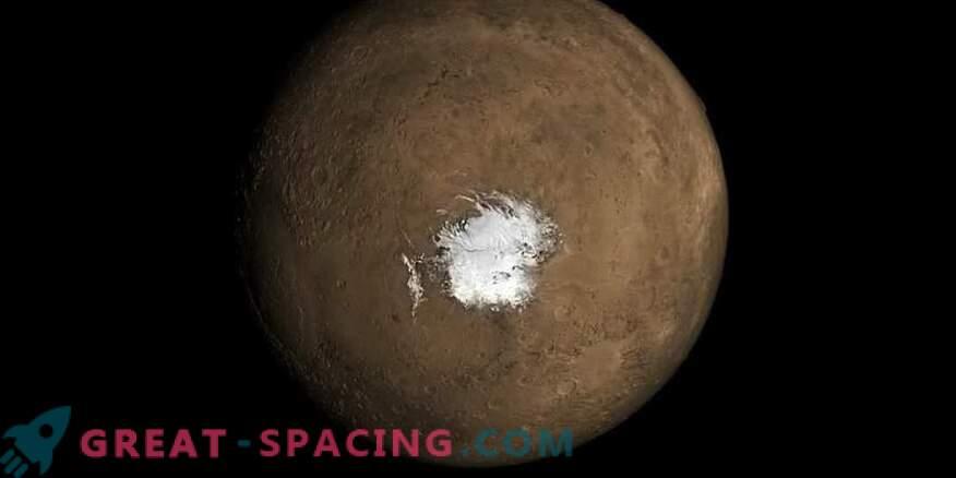 Der Mars-See könnte aufgrund der jüngsten vulkanischen Aktivität entstanden sein.