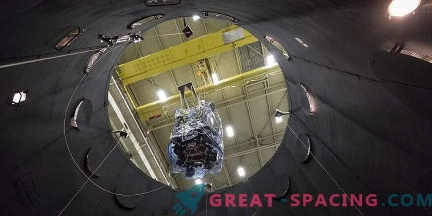 Vorbereitung der Parker-Sonnensonde für den Weltraumflug