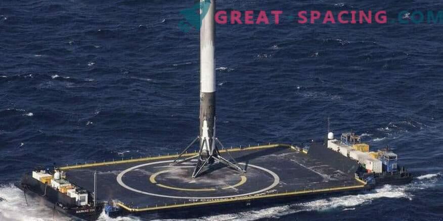 Die erfolgreiche Rückkehr einer SpaceX-Rakete nach einem Militärstart