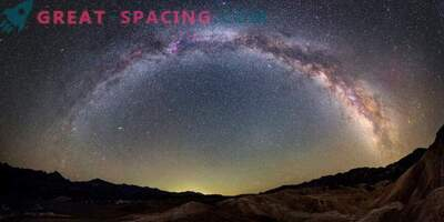 Die Milchstraße ist die einzige Galaxie. Geschichte des großen Streits