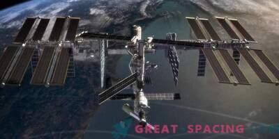 Auf der ISS erschien ein Ort, der kühler als das räumliche Vakuum war.