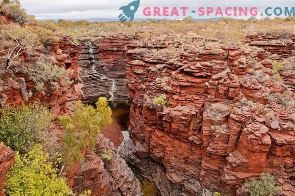 Das Leben des Mars kann unter Steinen verborgen sein.